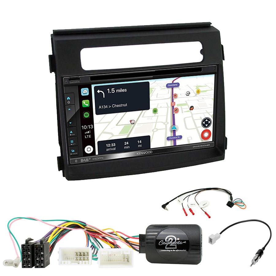 Kit d\'intégration Kia Soul de 10/2011 à 03/2014 + Autoradio tactile Navigation GPS