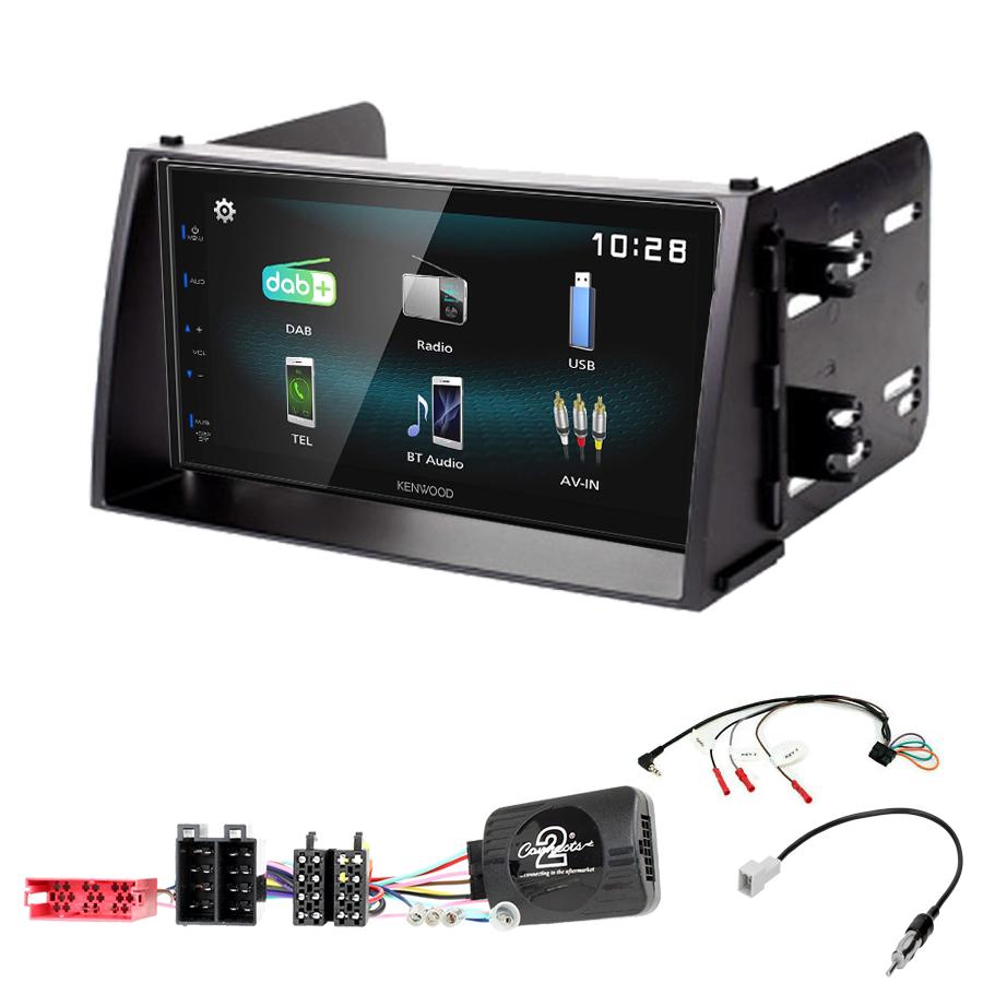 Kit d\'intégration Kia Soul de 11/2008 à 2010 + Autoradio multimédia à écran tactile