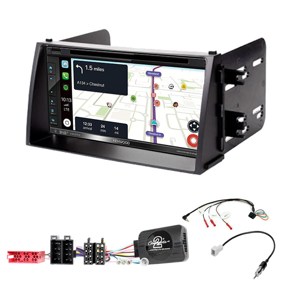 Kit d\'intégration Kia Soul de 11/2008 à 2010 + Autoradio tactile Navigation GPS
