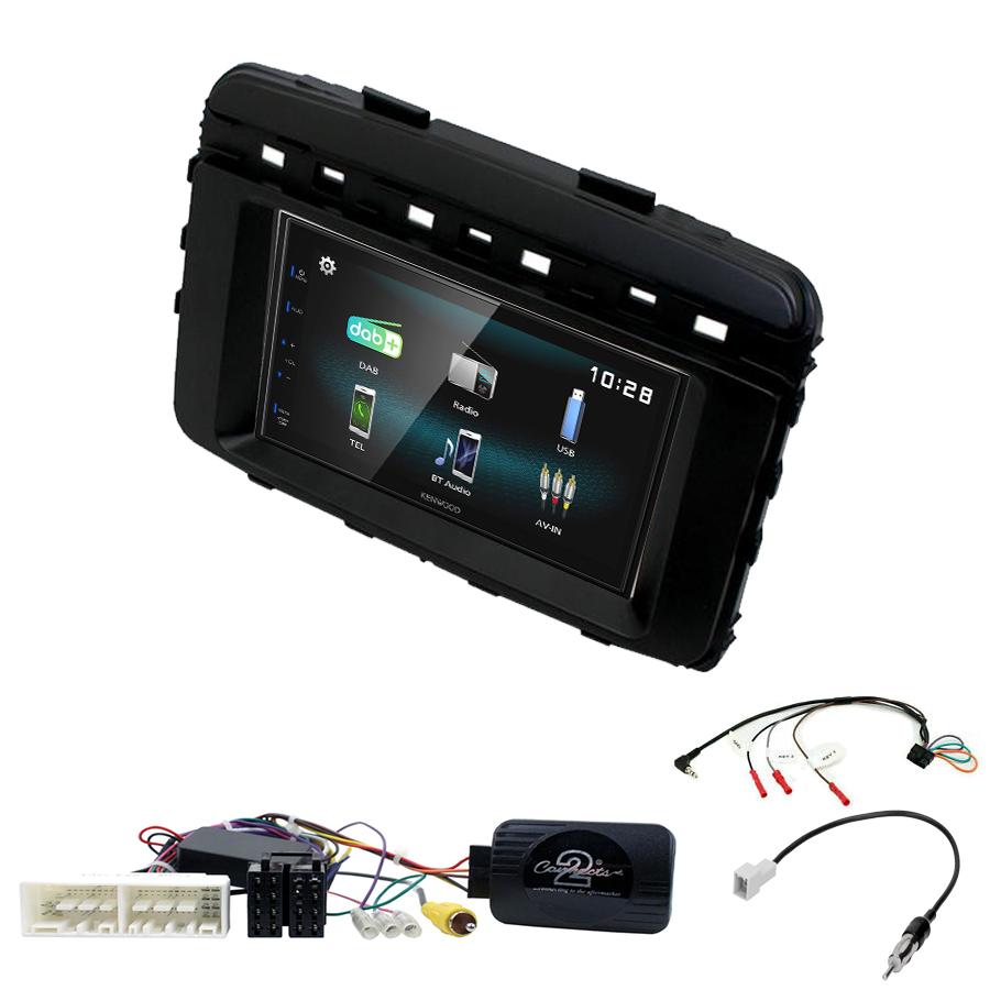 Kit d\'intégration Kia Sorento de 2015 à 2017 + Autoradio multimédia à écran tactile