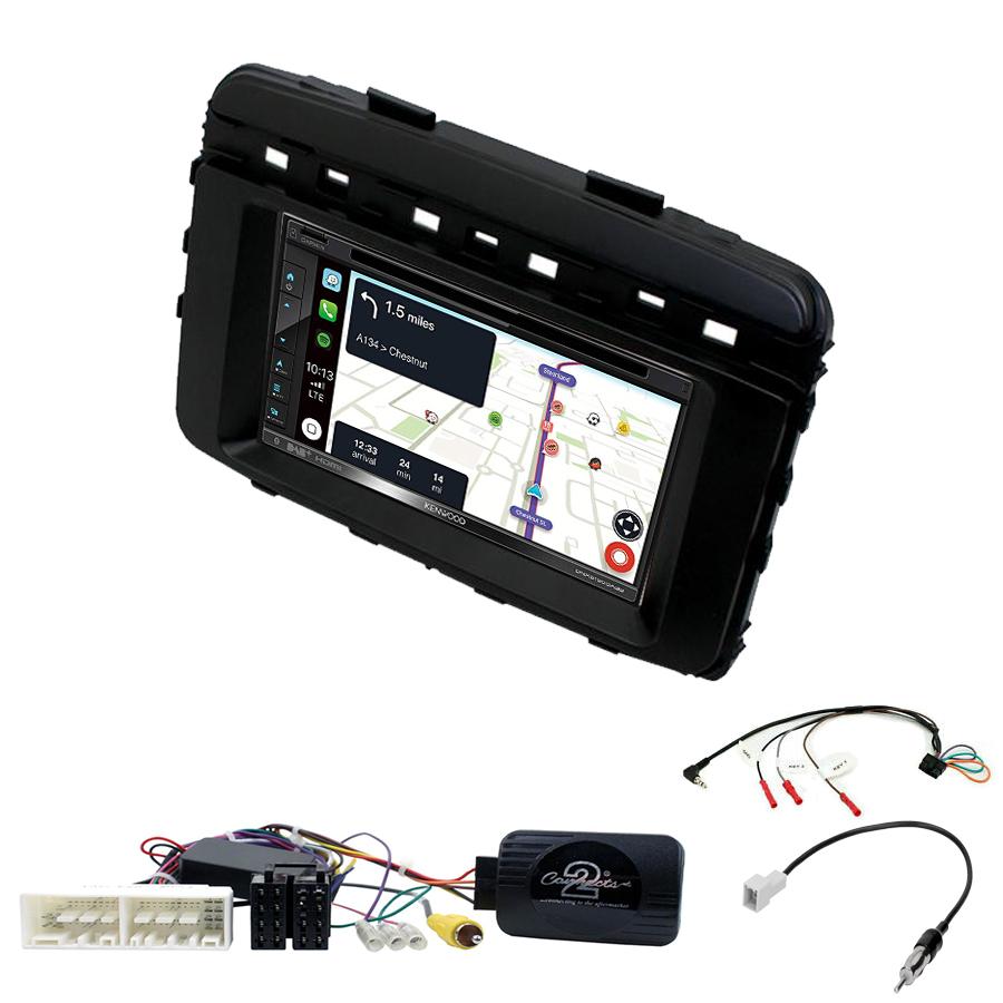 Kit d\'intégration Kia Sorento de 2015 à 2017 + Autoradio tactile Navigation GPS