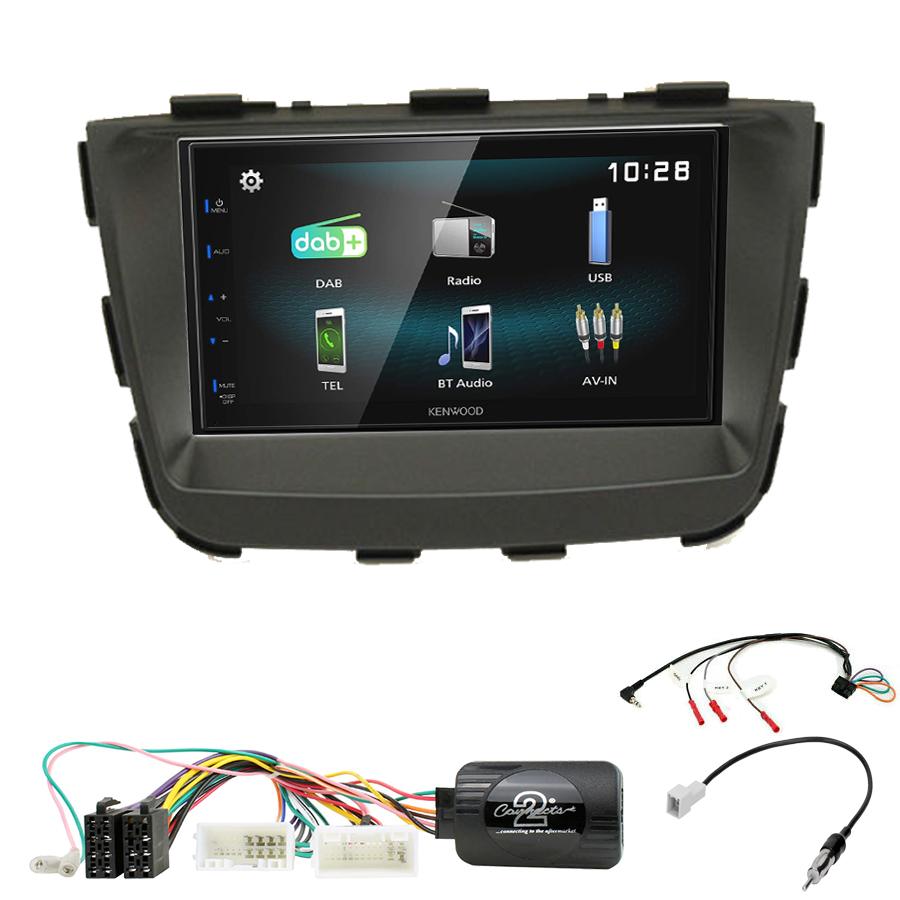 Kit d\'intégration Kia Sorento de 10/2012 à 02/2015 + Autoradio multimédia à écran tactile