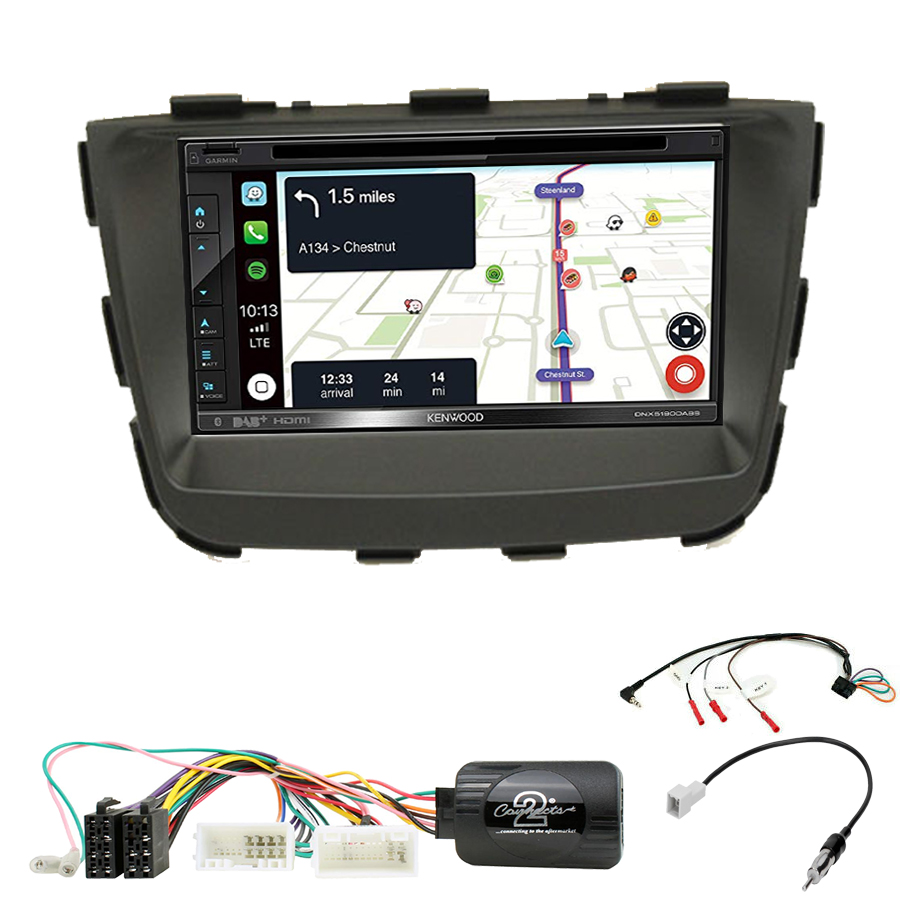 Kit d\'intégration Kia Sorento de 10/2012 à 02/2015 + Autoradio tactile Navigation GPS