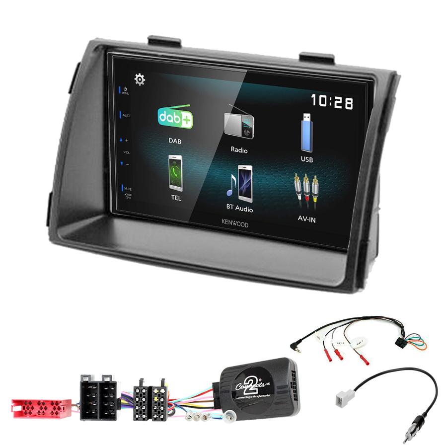 Kit d\'intégration Kia Sorento de 04/2009 à 2012 + Autoradio multimédia à écran tactile