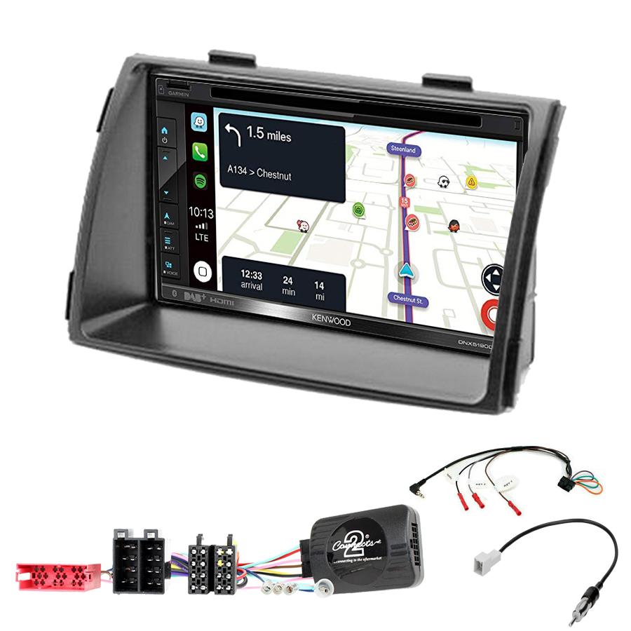 Kit d\'intégration Kia Sorento de 04/2009 à 2012 + Autoradio tactile Navigation GPS