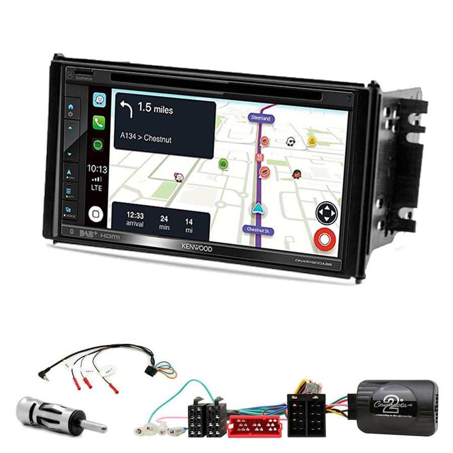 Kit d\'intégration Kia Sorento de 11/2006 à 03/2009 + Autoradio tactile Navigation GPS
