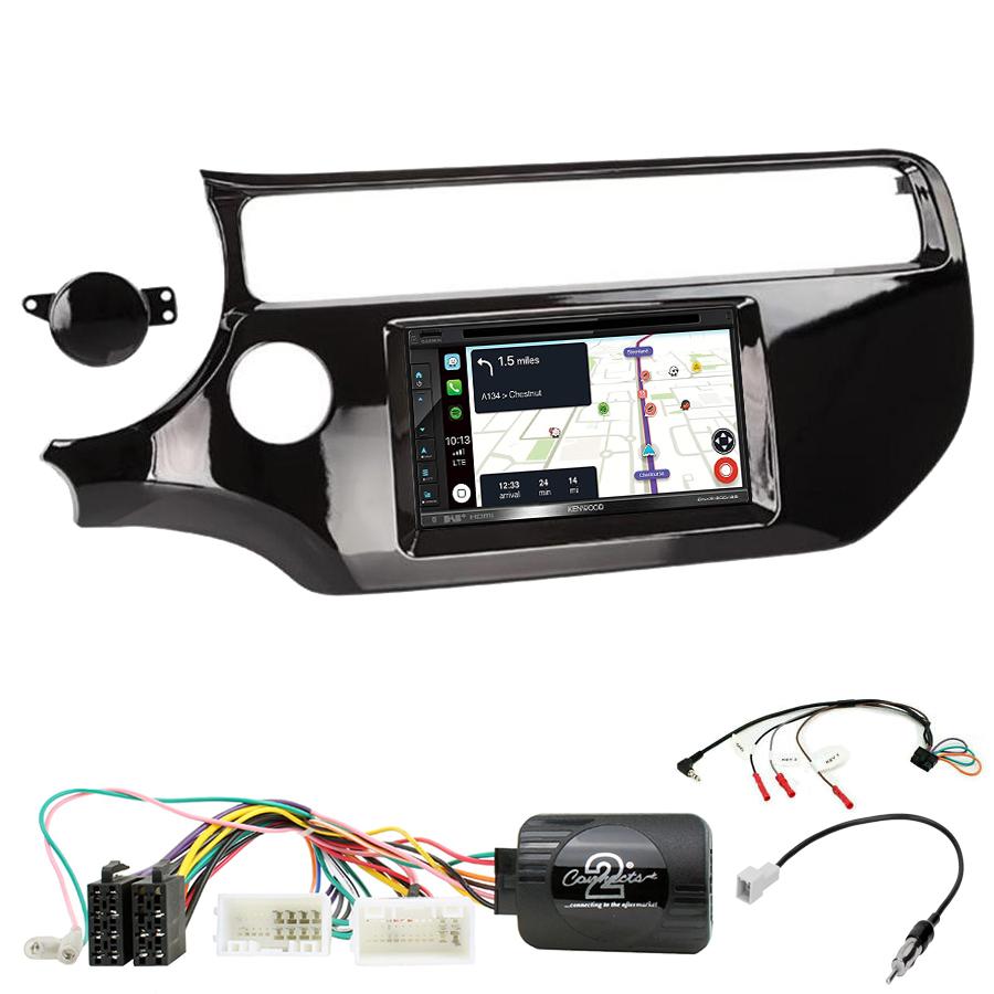 Kit d\'intégration Kia Rio de 2015 à 2017 + Autoradio tactile Navigation GPS