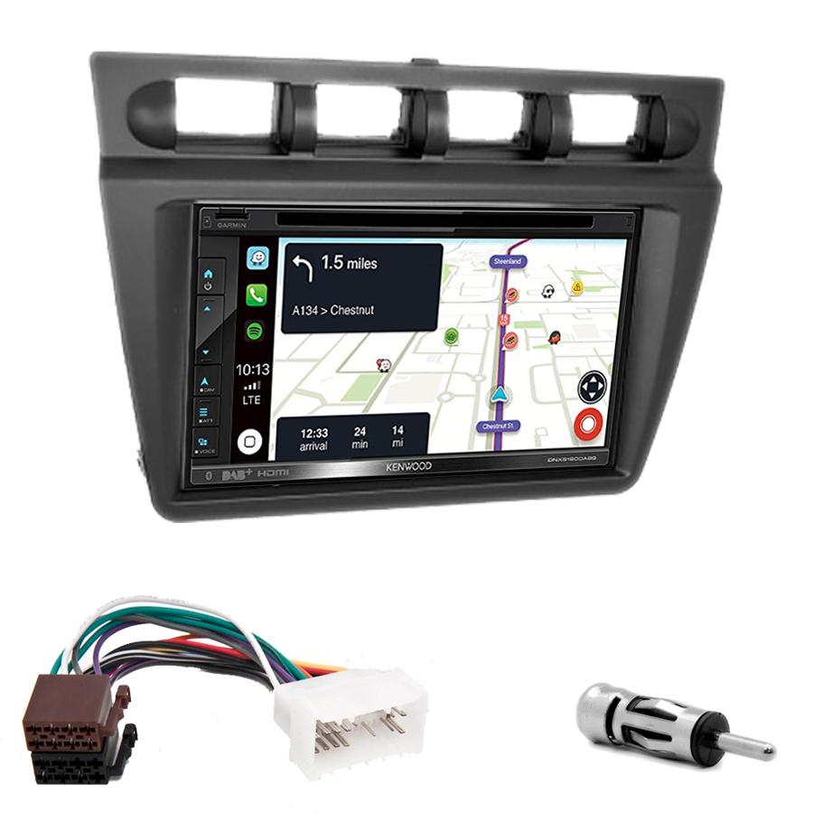 Kit d\'intégration Kia Picanto de 2004 à 2007 + Autoradio tactile Navigation GPS