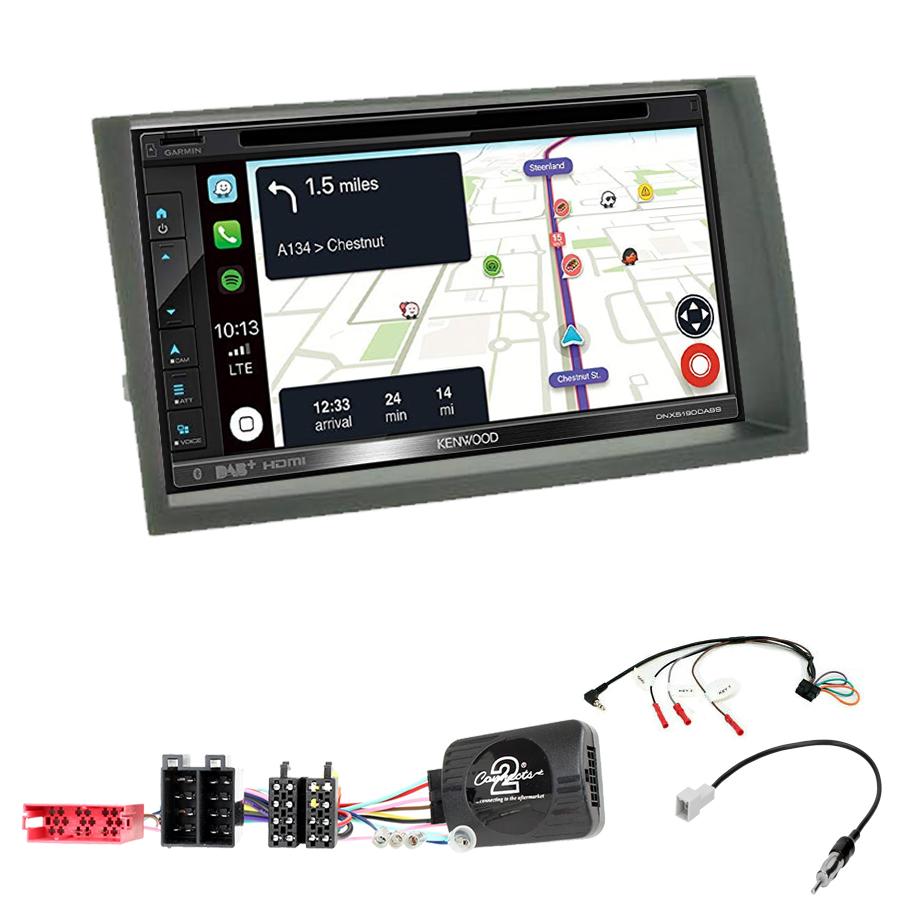 Kit d\'intégration Kia Cee\'d de 08/2009 à 07/2012 + Autoradio tactile Navigation GPS