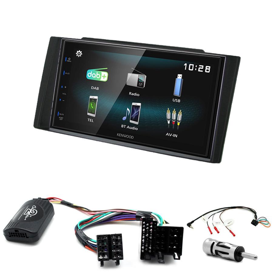Kit d\'intégration Kia Cee\'d de 2006 à 2009 + Autoradio multimédia à écran tactile