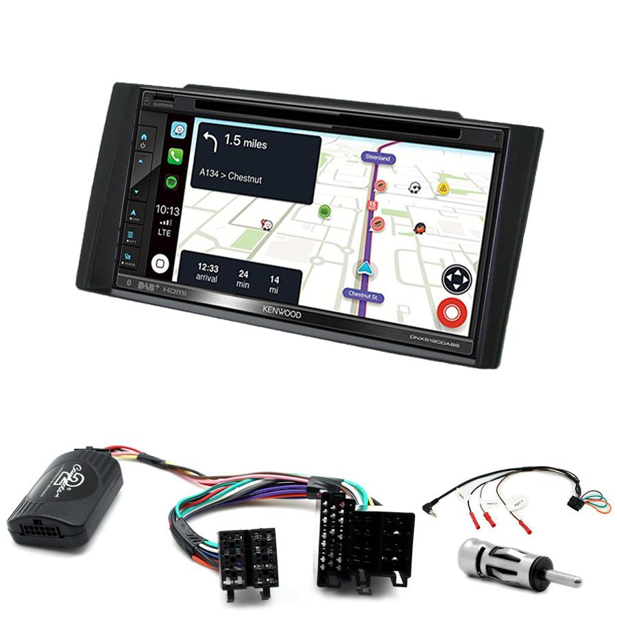 Kit d\'intégration Kia Cee\'d de 2006 à 2009 + Autoradio tactile Navigation GPS