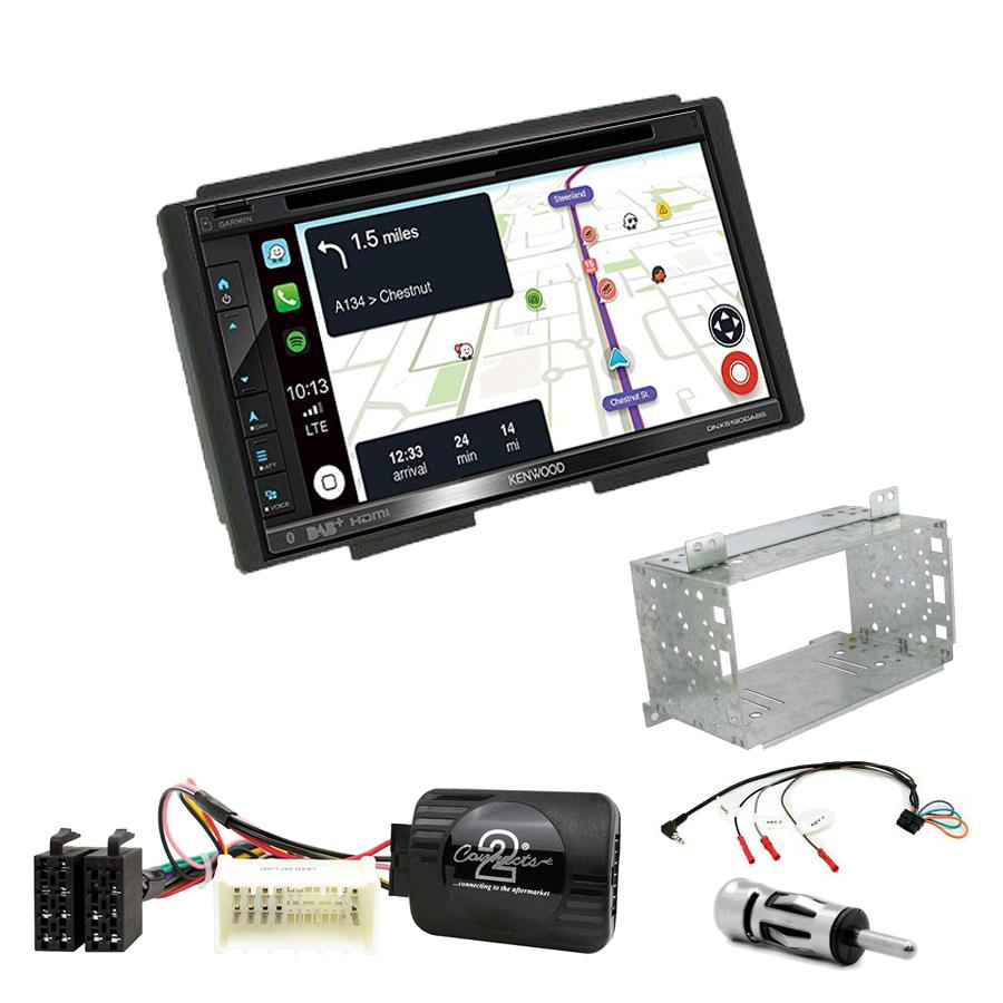 Kit d\'intégration Kia Carnival de 2006 à 2011 + Autoradio tactile Navigation GPS