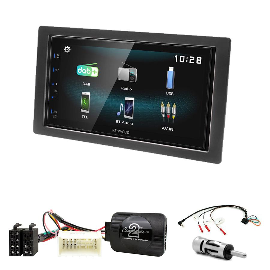 Kit d\'intégration Kia Carens de 2007 à 2010 + Autoradio multimédia à écran tactile