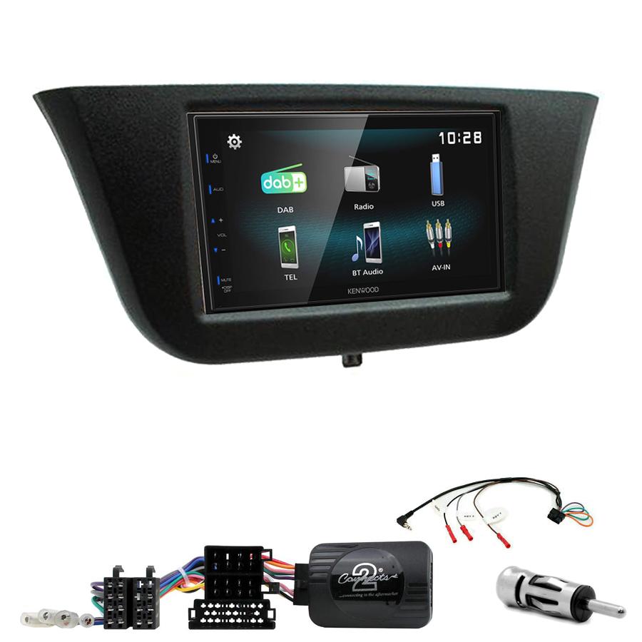 Kit d\'intégration Iveco Daily de 2014 à 2020 + Autoradio multimédia à écran tactile