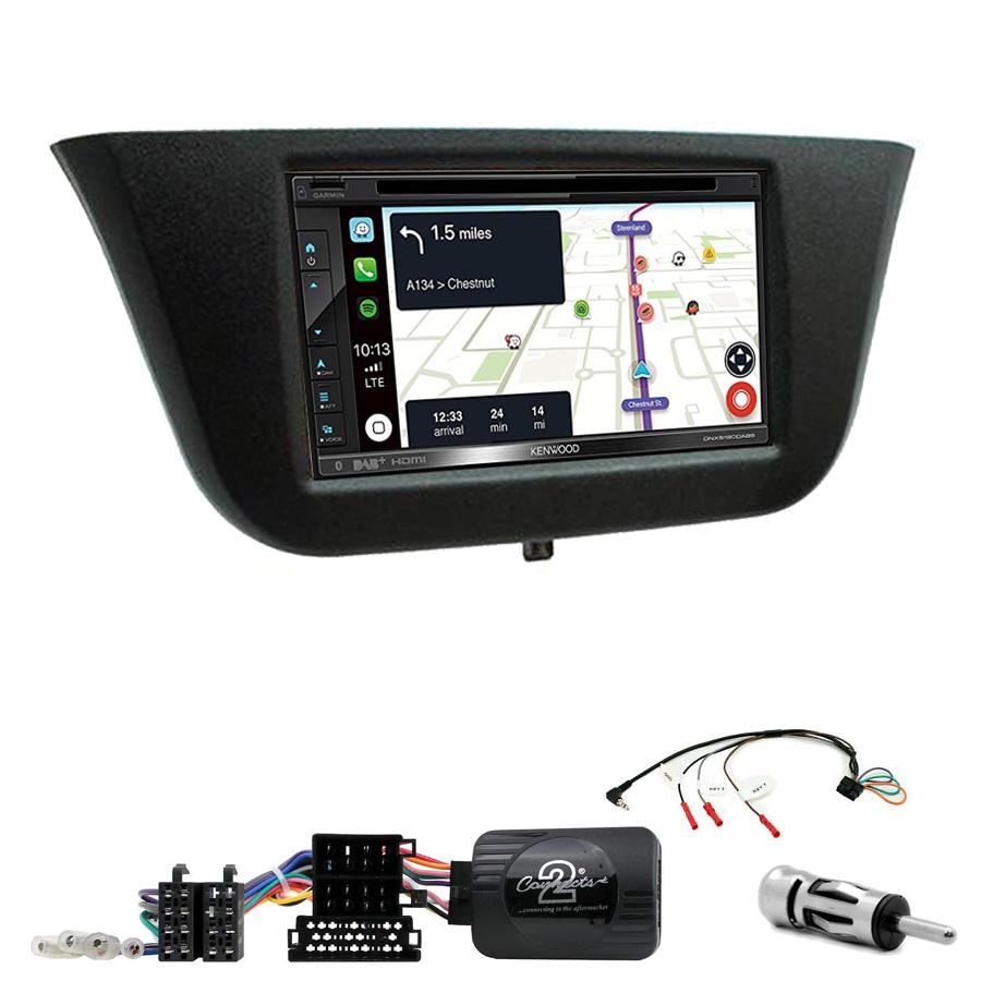 Kit d\'intégration Iveco Daily de 2014 à 2020 + Autoradio tactile Navigation GPS