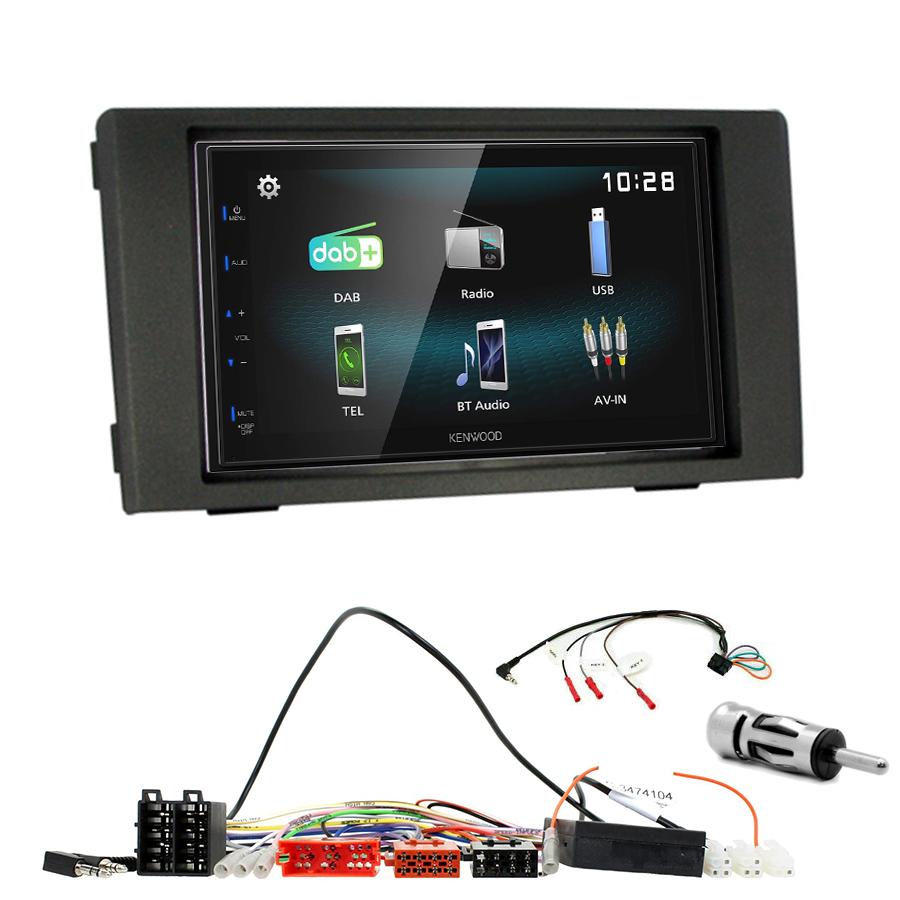 Kit d\'intégration Iveco Daily de 2007 à 2013 + Autoradio multimédia à écran tactile