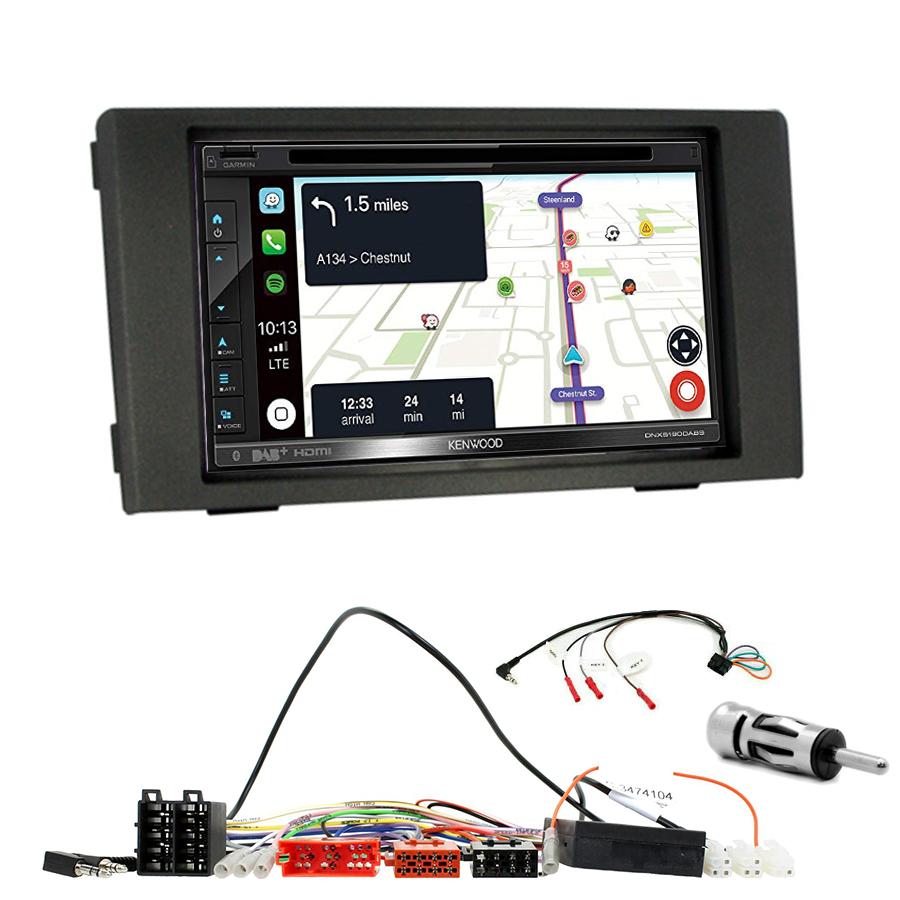 Kit d\'intégration Iveco Daily de 2007 à 2013 + Autoradio tactile Navigation GPS