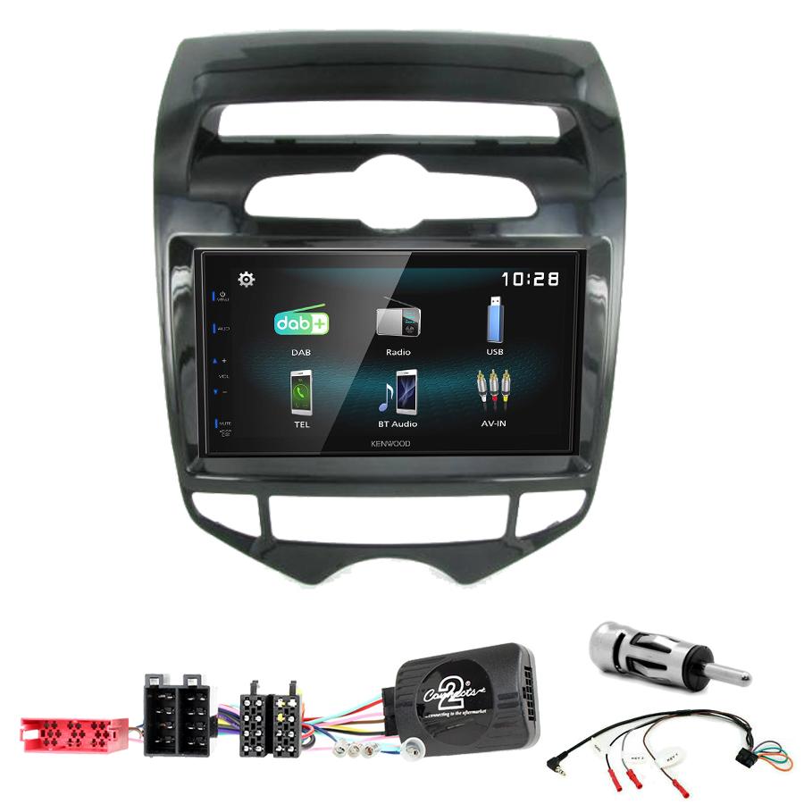 Kit d\'intégration Hyundai IX20 de 2010 à 2015 + Autoradio multimédia à écran tactile