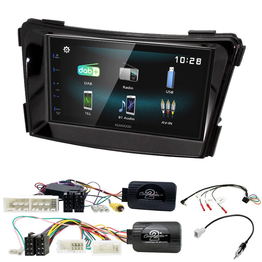 Kit d\'intégration Hyundai i40 de 2011 à 2019 + Autoradio multimédia à écran tactile
