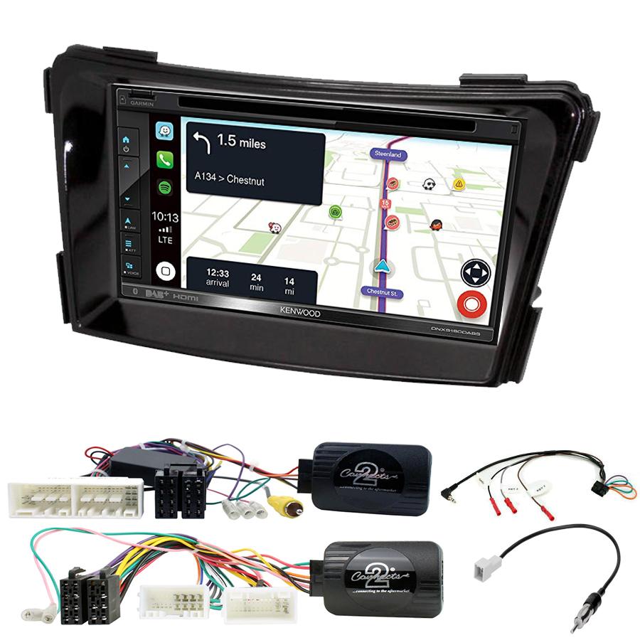 Kit d\'intégration Hyundai i40 de 2011 à 2019 + Autoradio tactile Navigation GPS