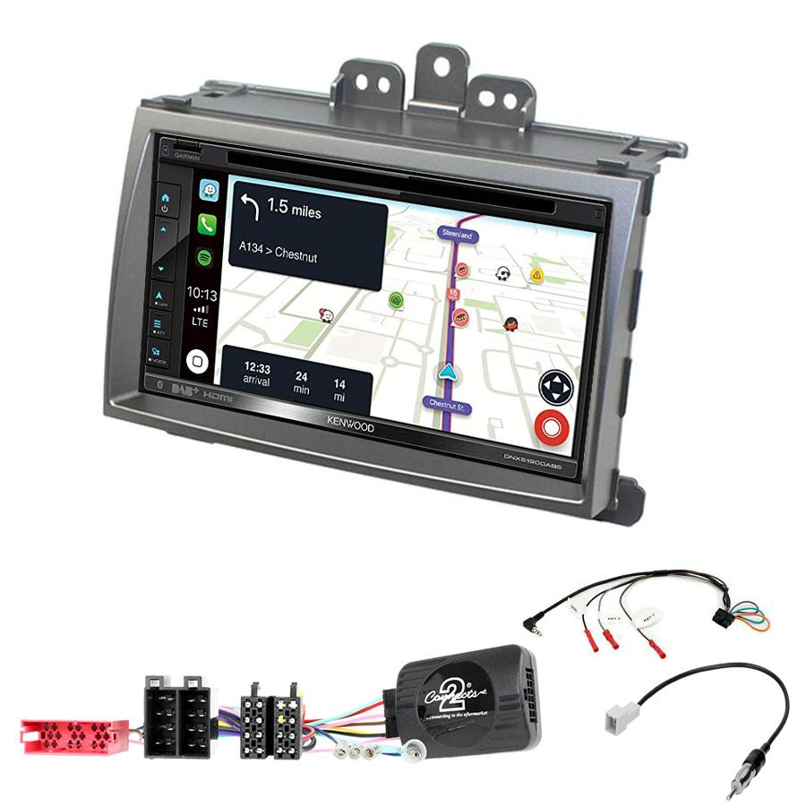 Kit d\'intégration Hyundai i20 de 2008 à 2012 + Autoradio tactile Navigation GPS