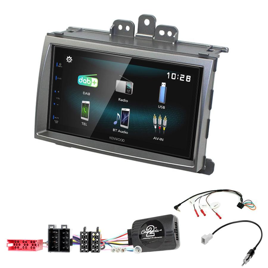 Kit d\'intégration Hyundai i20 de 2008 à 2012 + Autoradio multimédia à écran tactile