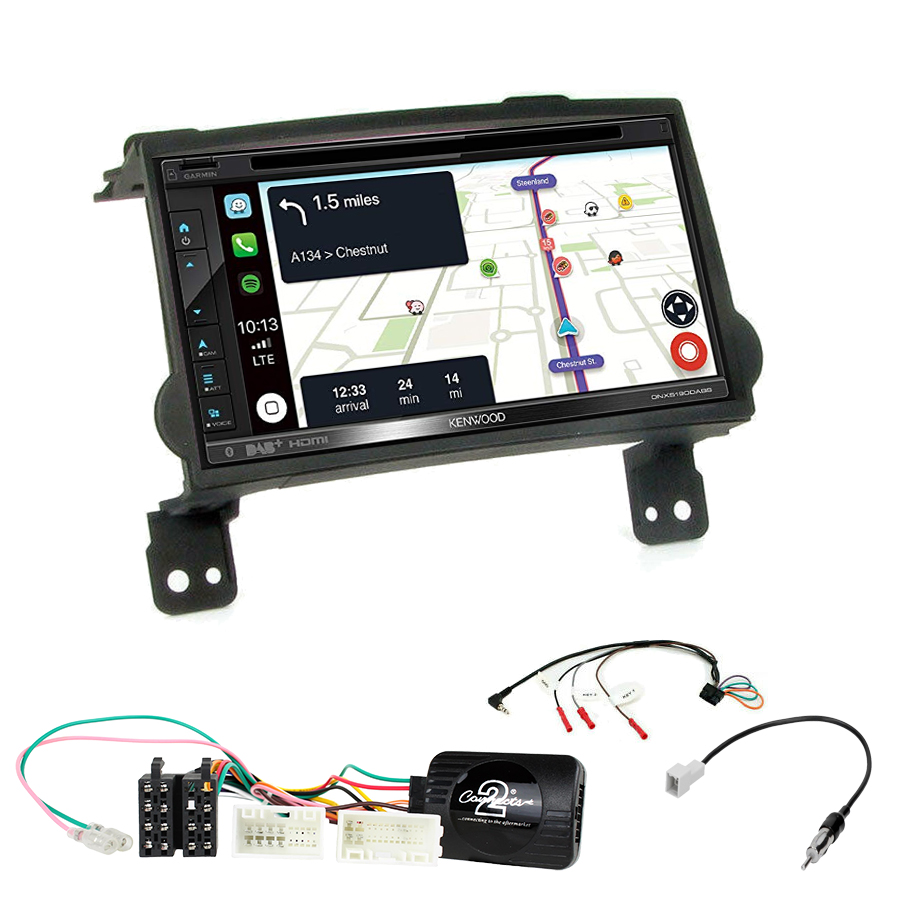 Kit d\'intégration Hyundai H1 + Autoradio tactile Navigation GPS