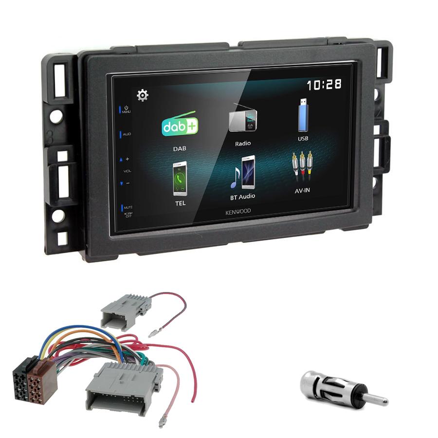 Kit d\'intégration Hummer H2 de 2008 à 2010 + Autoradio multimédia à écran tactile