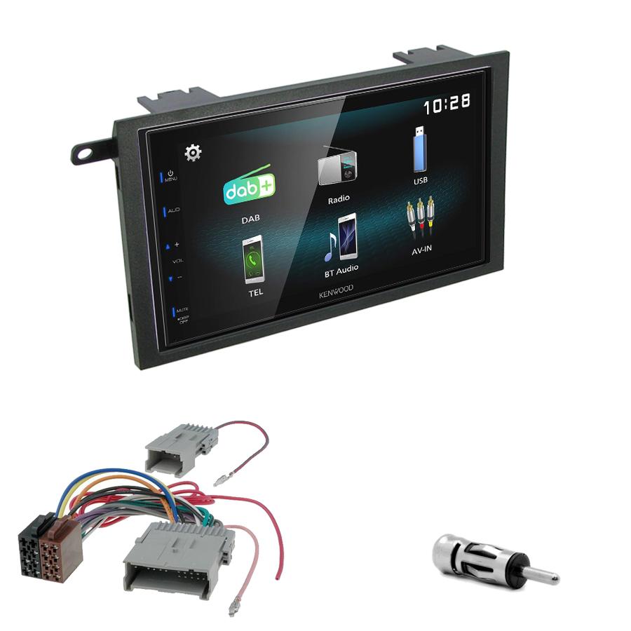 Kit d\'intégration Hummer H2 de 2003 à 2007 + Autoradio multimédia à écran tactile