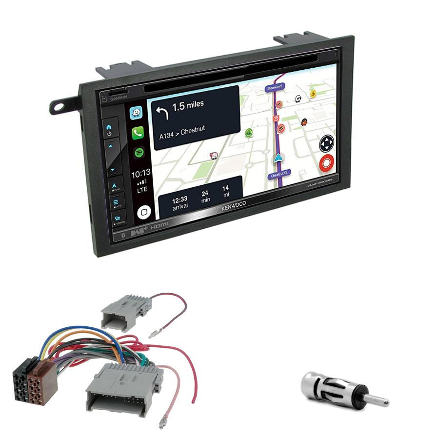 Kit d\'intégration Hummer H2 de 2003 à 2007 + Autoradio tactile Navigation GPS