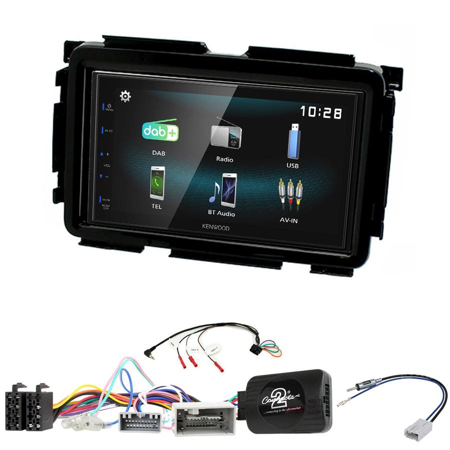 Kit d\'intégration Honda HR-V de 2015 à 2018 + Autoradio multimédia à écran tactile