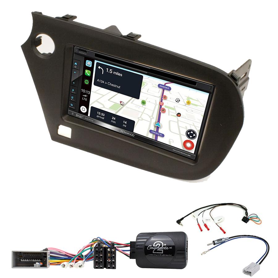 Kit d\'intégration Honda Insight de 2009 à 2014 + Autoradio tactile Navigation GPS