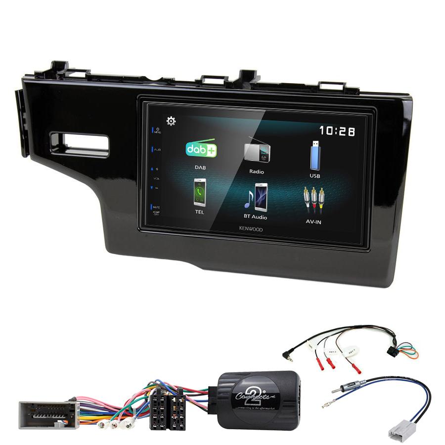 Kit d\'intégration Honda Jazz de 2013 à 2017 + Autoradio multimédia à écran tactile