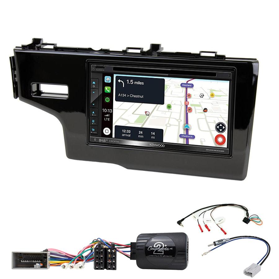 Kit d\'intégration Honda Jazz de 2013 à 2017 + Autoradio tactile Navigation GPS