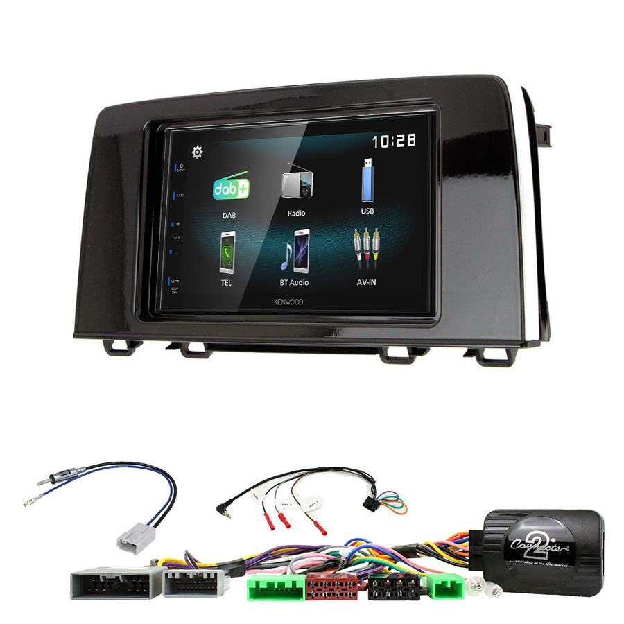 Kit d\'intégration Honda CR-V de 2016 à 2020 + Autoradio multimédia à écran tactile