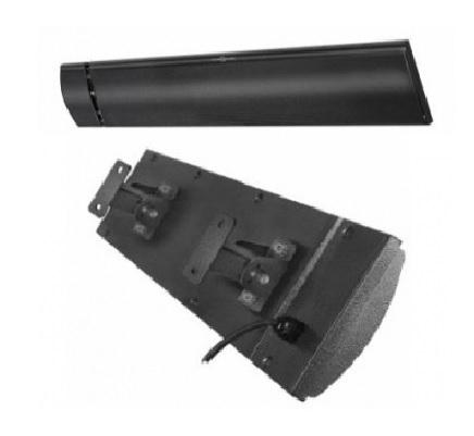 Chauffage infrarouge obscur 1800W avec télécommande - pour extérieur - BPH1800RC