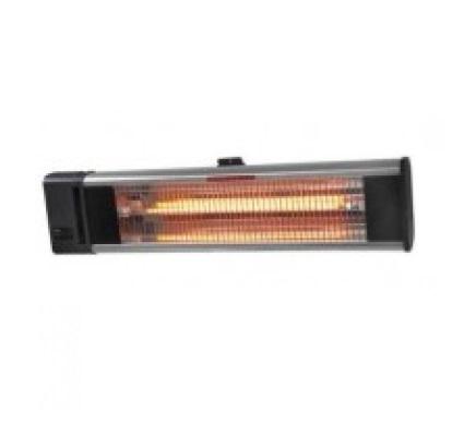 Chauffage infrarouge 1800W avec télécommande - pour extérieur - IMT1800