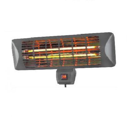 Chauffage infrarouge 1000-2000W - pour extérieur - TE02M
