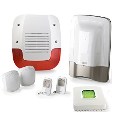 DELTA DORE - Pack alarme sans fil prêt à l\'emploi avec box domotique Tydom 1.0 - Réf - 6410177