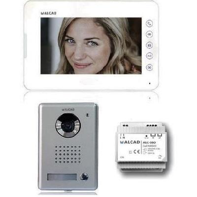 ALCAD - Kit portier vidéo ERLEAHD - Ecran 7 - Réf - KVS31121
