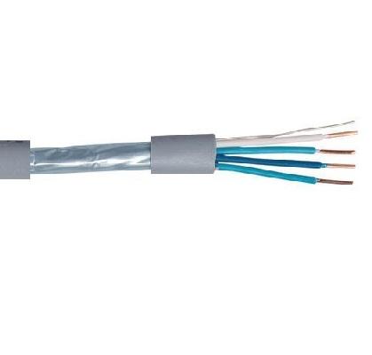 CAE - Câble téléphonique - 2 paires - 20AWG - Blindé Couronne 100m - Réf - SYT220G1