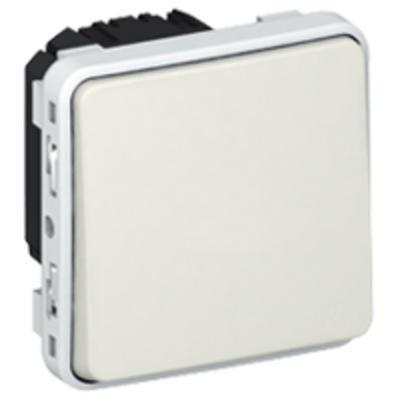 LEGRAND - Poussoir inverseur NO+NF Plexo composable IP55 10A - blanc - REF 069631