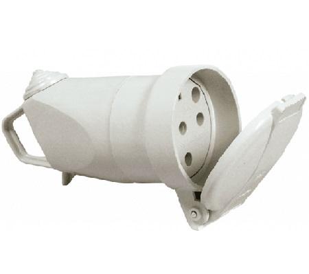 LEGRAND - Fiche femellle 3P+N+T 20A 400V~ avec volet de protection - REF 055667