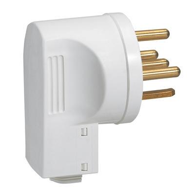 LEGRAND - Fiche 3P+N+T 20A avec serre-câbles - REF 055157