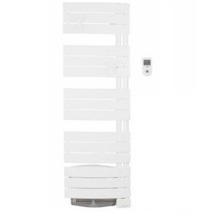 THERMOR - Radiateur sèche serviette - Allure Digital - Etroit 1500W Avec soufflerie - Blanc - Réf - 490751