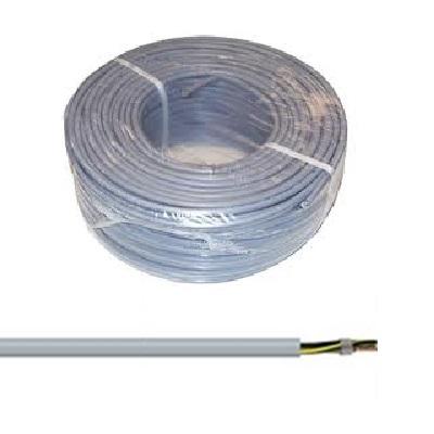 CAE - Câble d\'alimentation souple harmonisé 4G1.5mm² - Gris - Couronne 50m - Réf - HO5VV-F4G1.5G