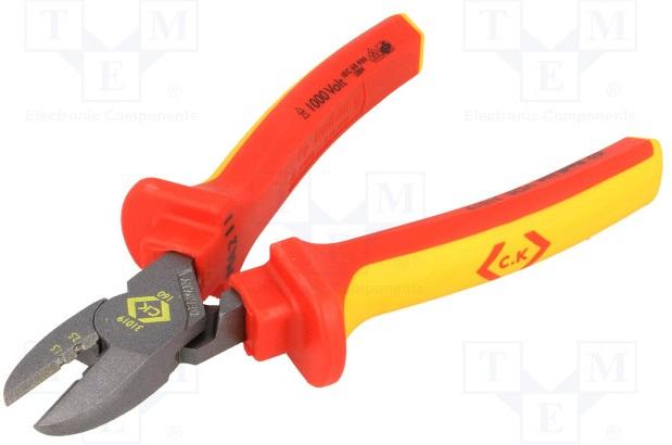 CK - Pince coupante diagonale - RedLine - 160mm - Réf - 431019