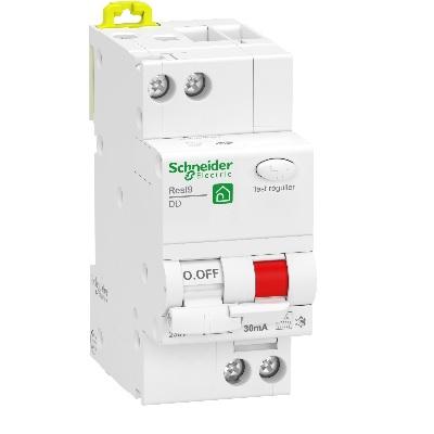 Schneider Electric - Resi9 XP - disjoncteur différentiel - 1P+N - 32A - 30mA - courbe C - type Fsi - Réf - R9PDCF32