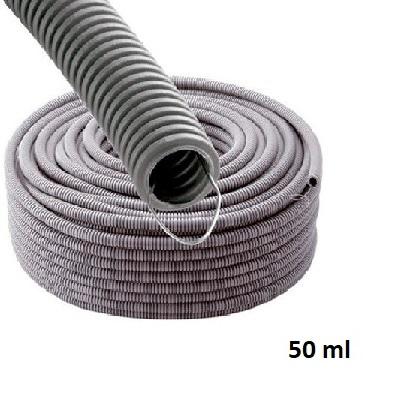 Gaine ICTA - Tire Fil Metalique - Lubrifiée - Diamètre 25 - Couronnne de 50m