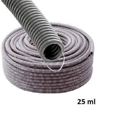 Gaine ICTA - Tire Fil Metalique - Lubrifiée - Diamètre 32 - couronne de 25m